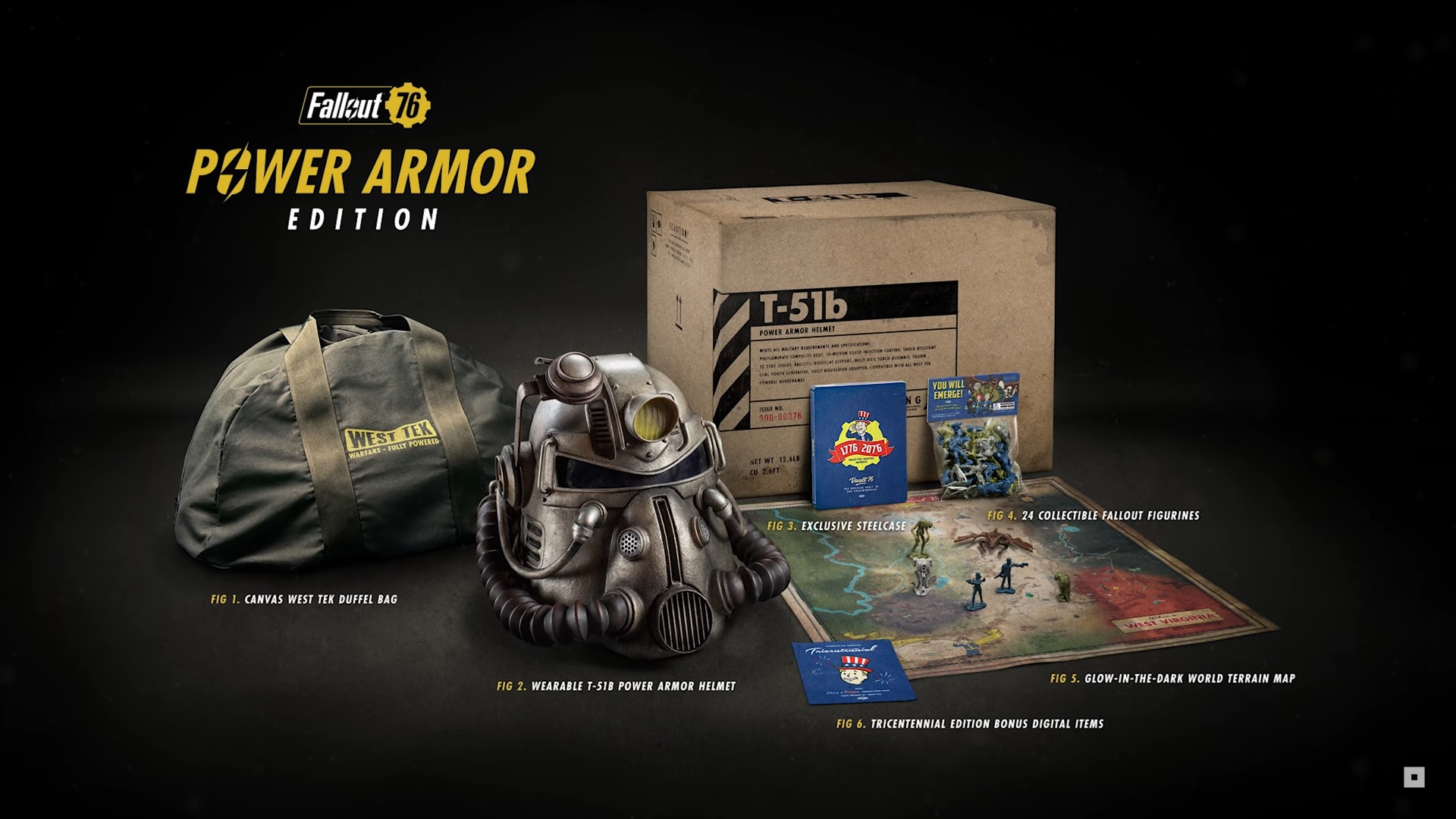 Fallout 76's collectors edition includes a wearable helmet