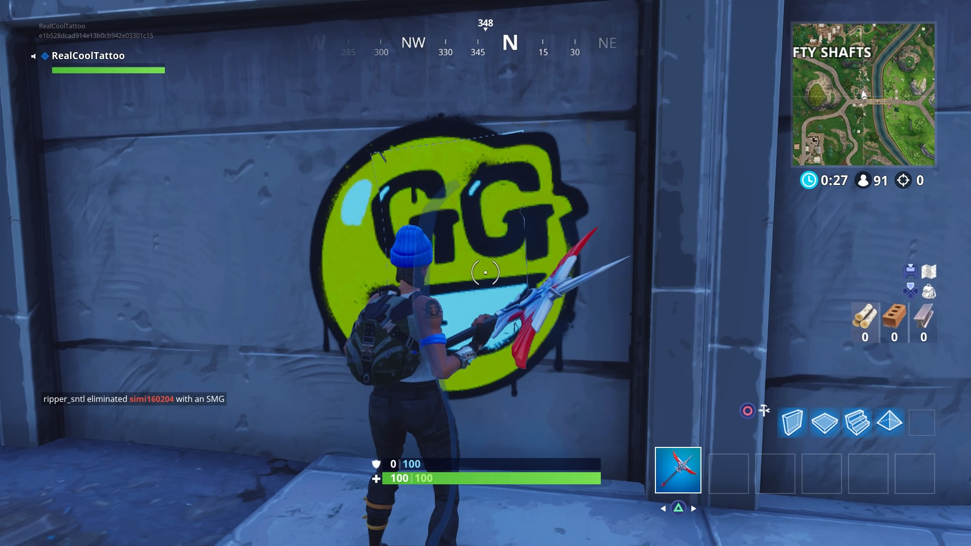 Fortnite Spray Over Carbide Or Omega Posters All Carbide