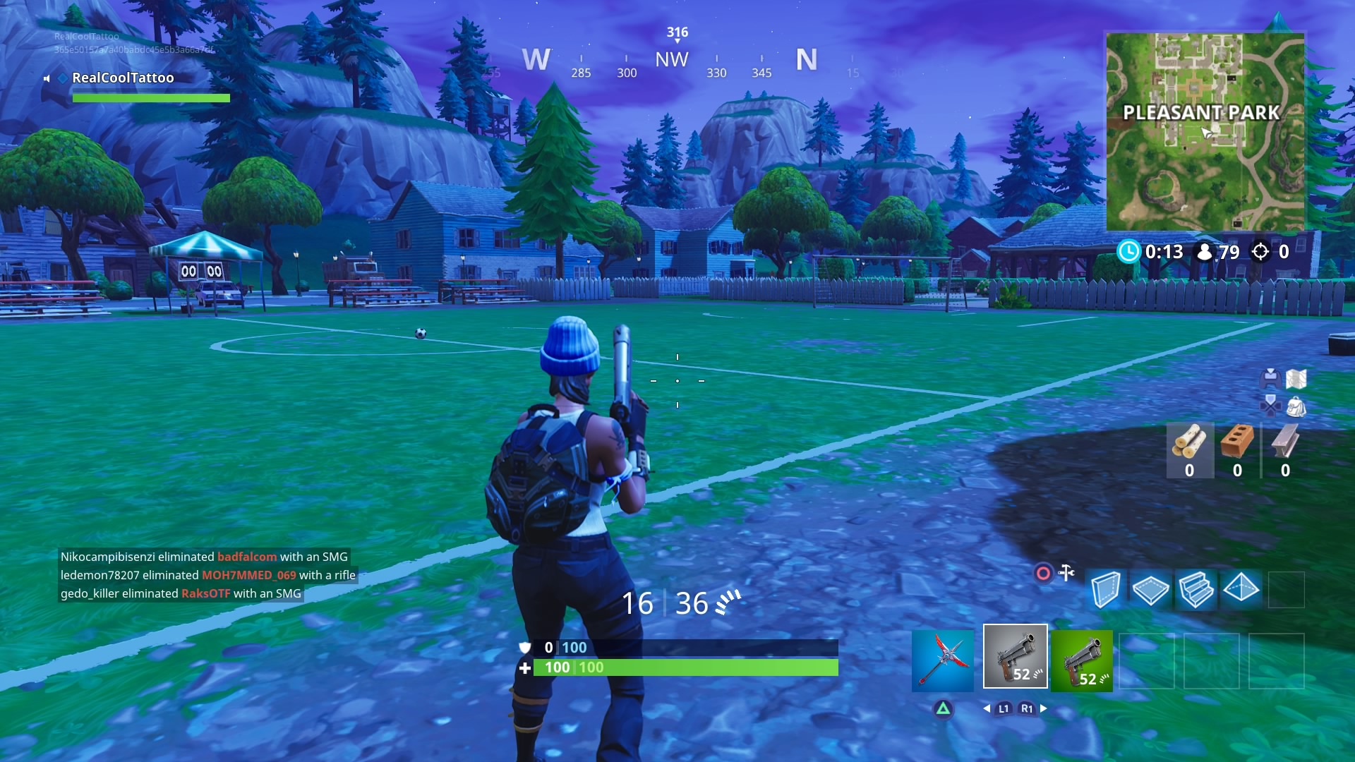 Guide: Fortnite Pleasant Park Treasure Map Location