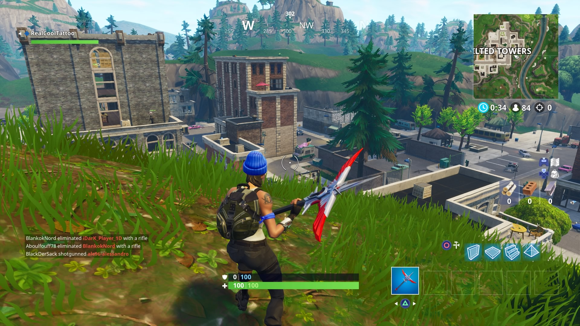 Fortnite Pleasant Park Treasure Map Location Follow The Treasure