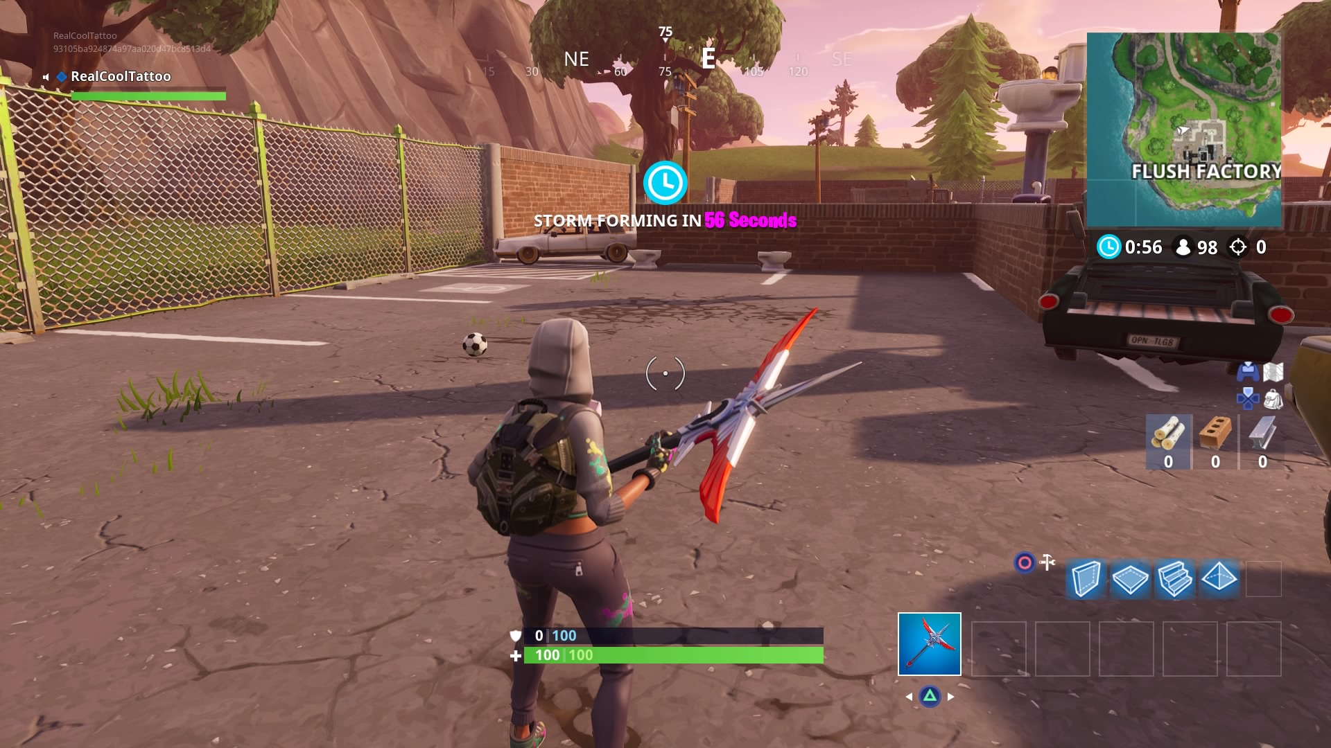 The Second One Is In Field Northeast Of Fatal Fields