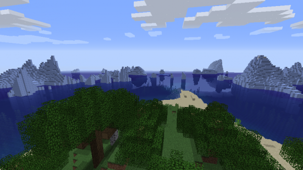 The Best Minecraft Seeds You Need To Play Right Now VG - Minecraft maps fur ps4 deutsch