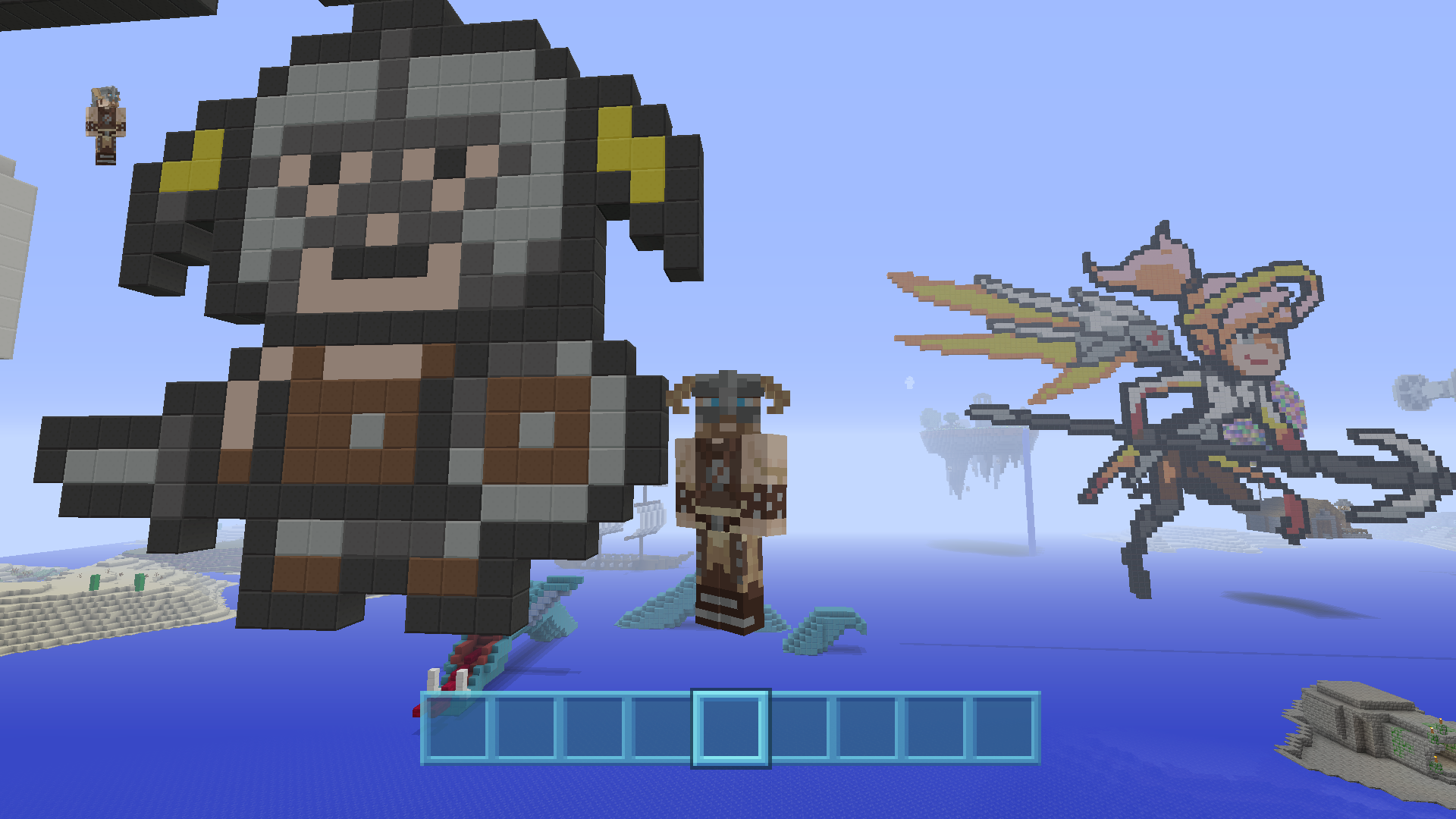The 12 Best Minecraft Skins Based On Video Game Characters Vg247