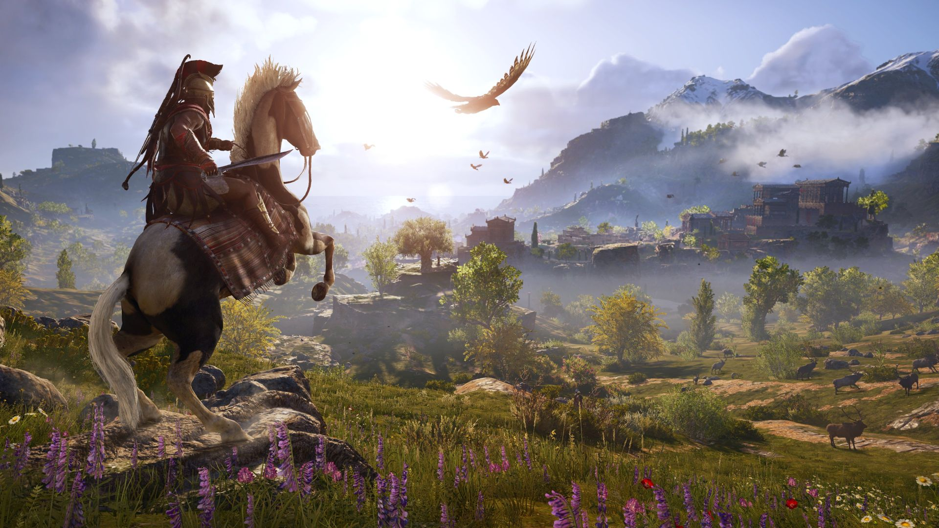 Assassin S Creed Odyssey Won T Americanise Ancient Greece Ubisoft Cast As Many Greek Actors As Possible Vg247