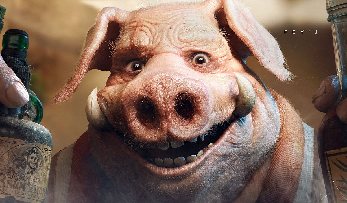 Watch over 25 minutes of fascinating Beyond Good & Evil 2 gameplay