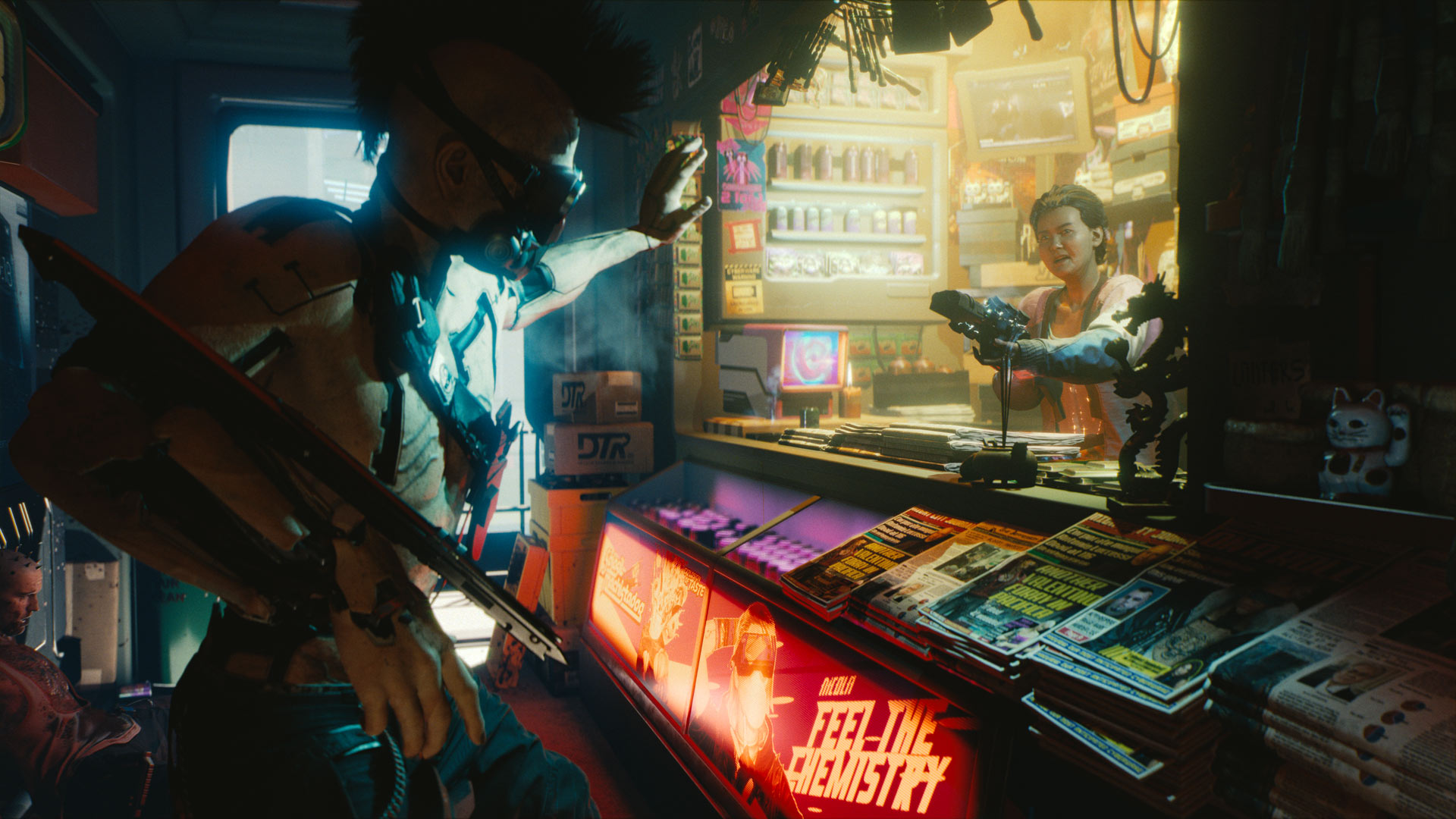 Why are modders restoring the look and feel of Cyberpunk 2018? - VG247