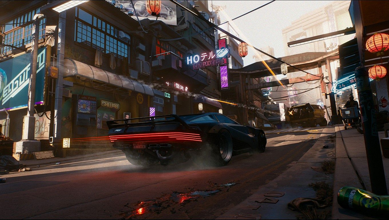 drawing games multiplayer Cyberpunk 2077 Will Launch As A Single Player Game But
