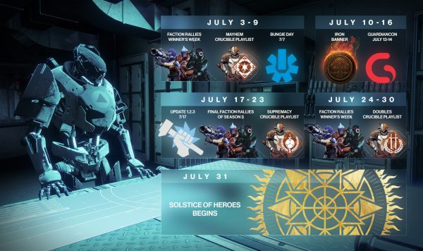 destiny 2 july 17 update ile ilgili görsel sonucu