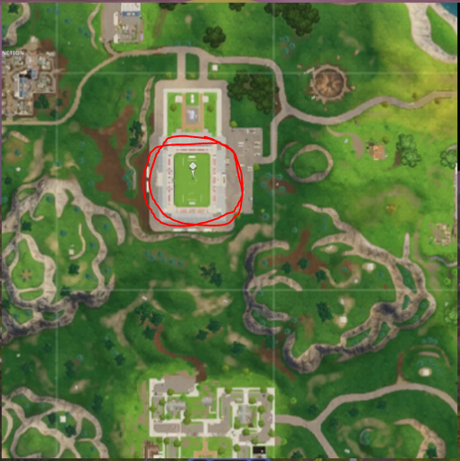 Fortnite Week 7 challenge: Follow the treasure map found in Pleasant Park