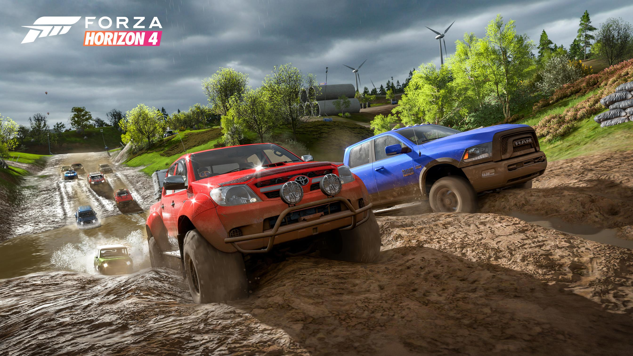 Forza Horizon 4 demo is dropping today