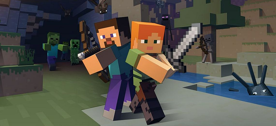 Minecraft has over 112 million monthly users, which is massive
