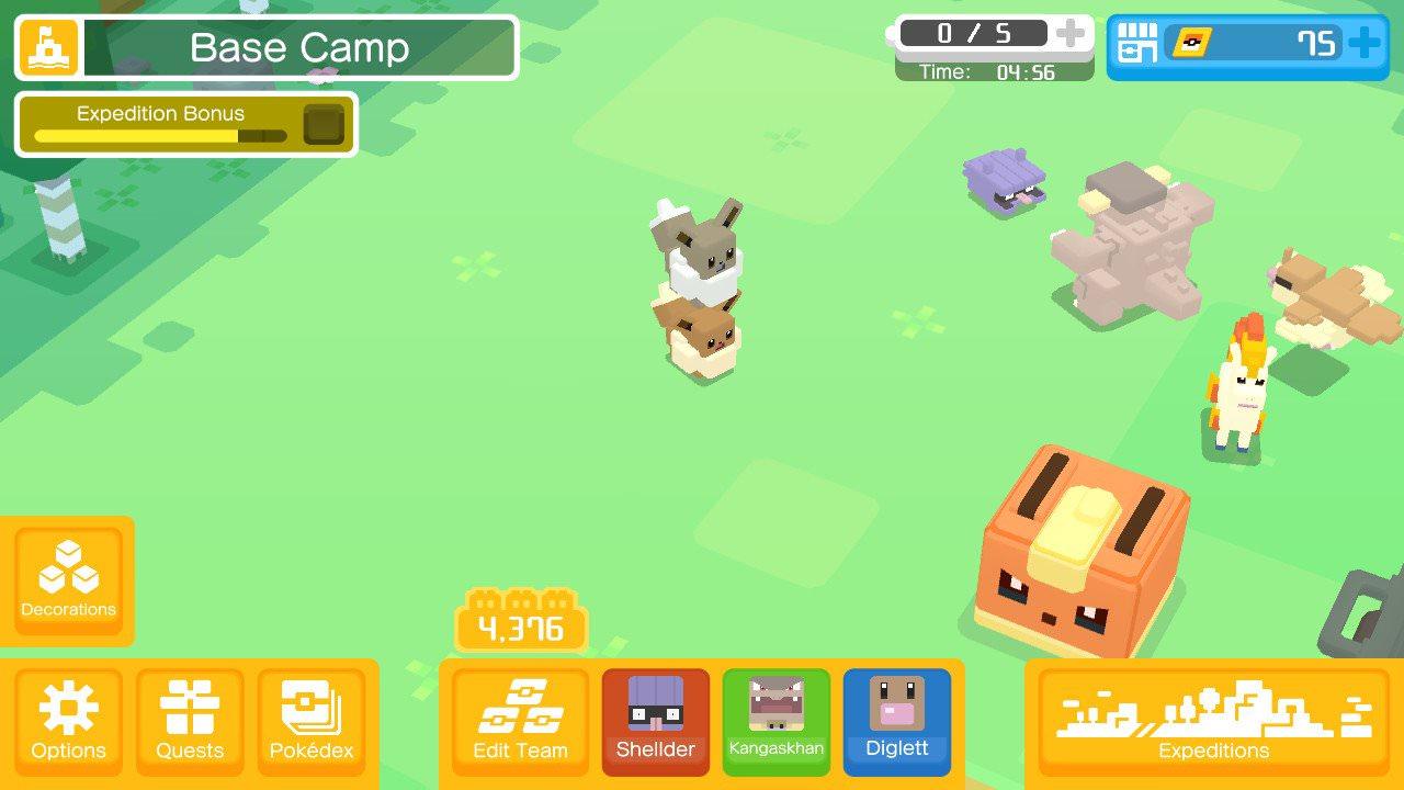 Pokemon Quest Eevee Evolution Evolving To Flareon Jolteon And Vaporeon