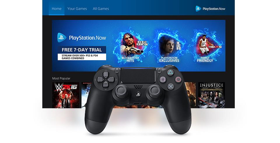 It looks like PlayStation Now is getting a download feature