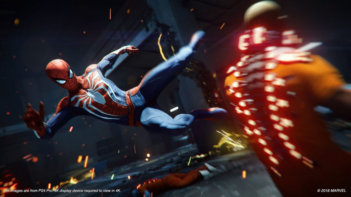 Spider-Man on PS4 nails the webslinging but fluffs the boss