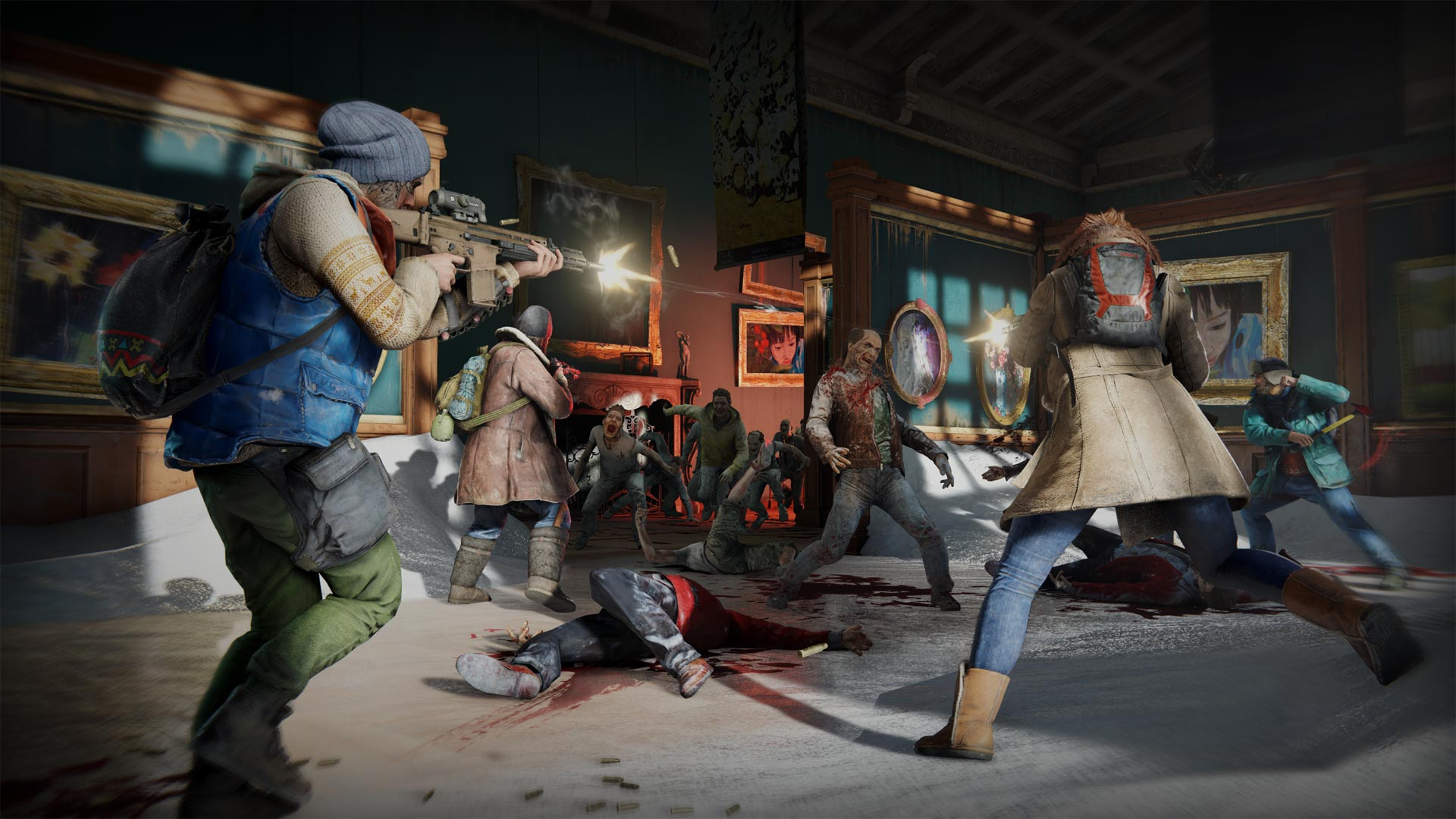 Here's a look at all 6 classes in World War Z - VG247