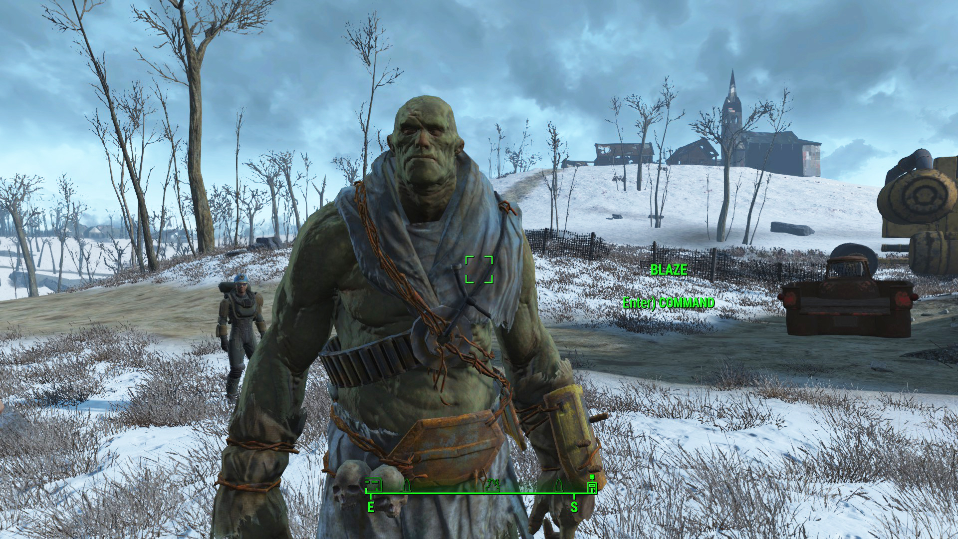 fallout 4 mod northern springs takes you to a winter wasteland vg247