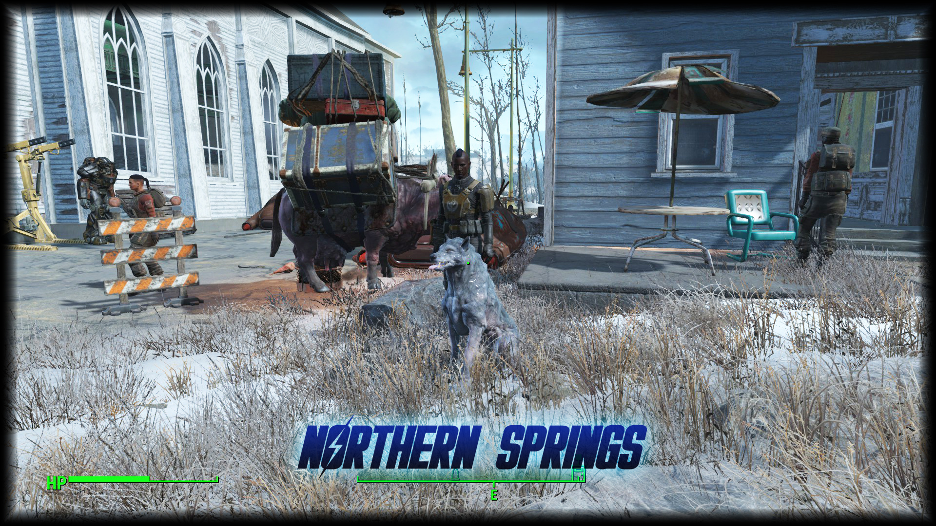 Fallout 4 mod Northern Springs takes you to a winter