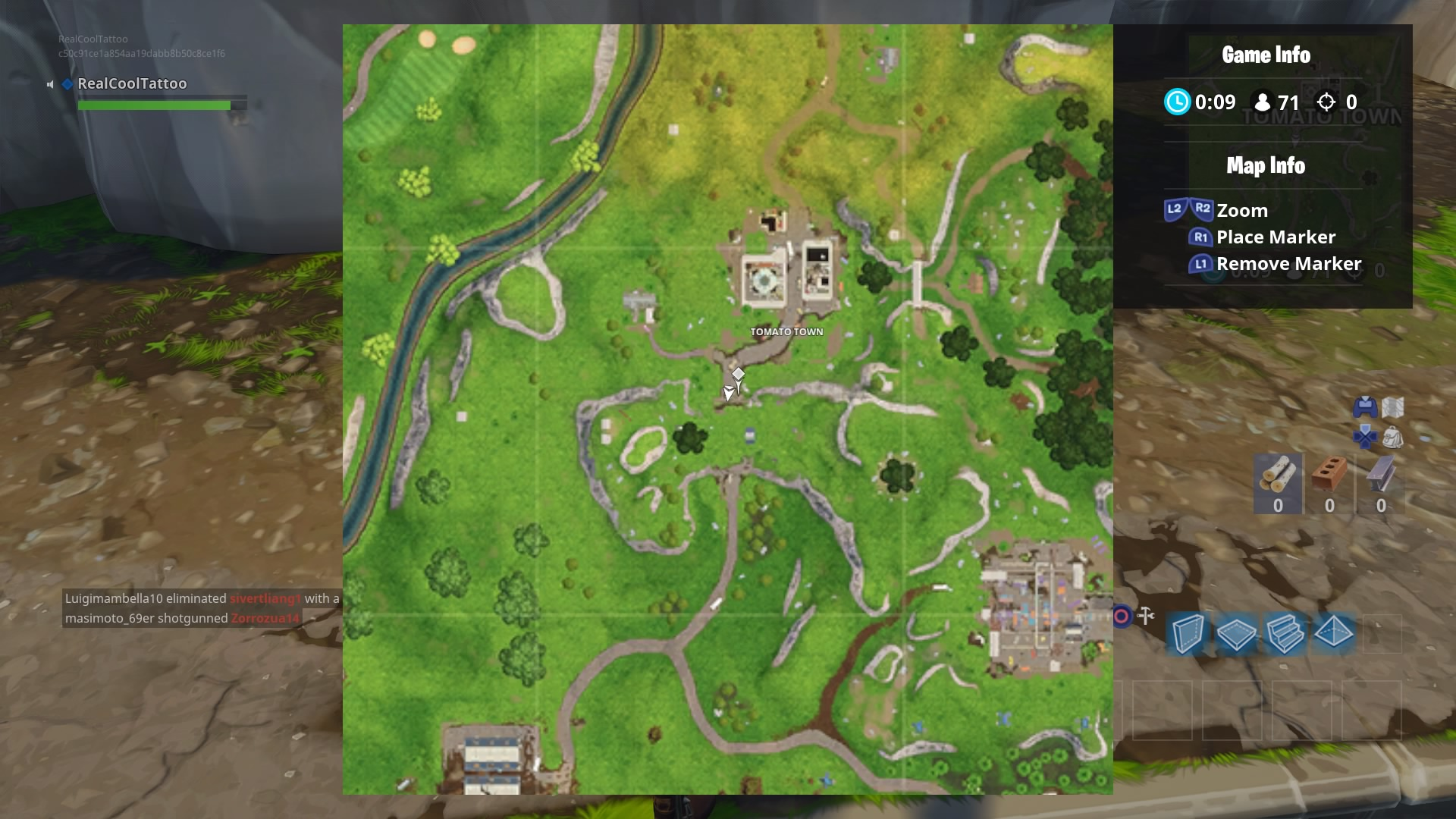 once you re performed with this problem right here s the place to search floating lightning bolts across the fortnite map - fortnite treasure map risky reels