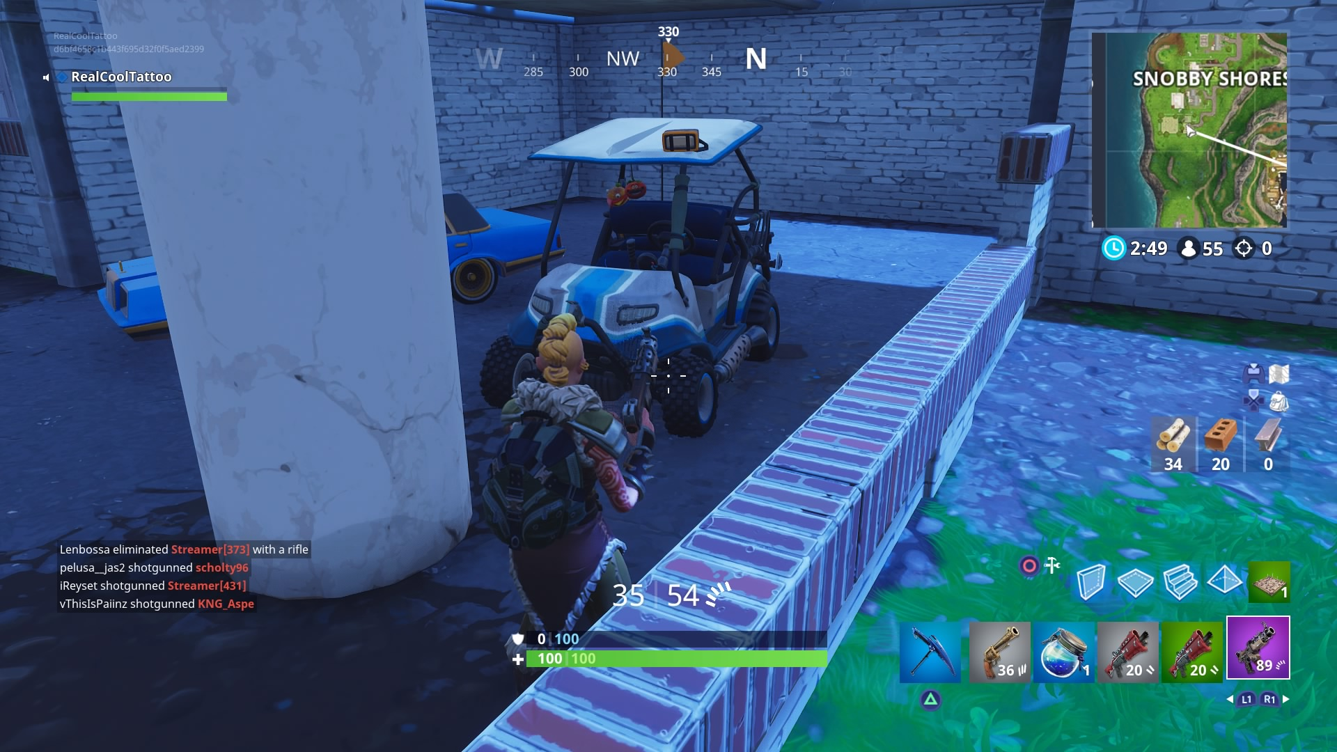 Fortnite Golf Cart Locations Where To Find An Atk All Terrain