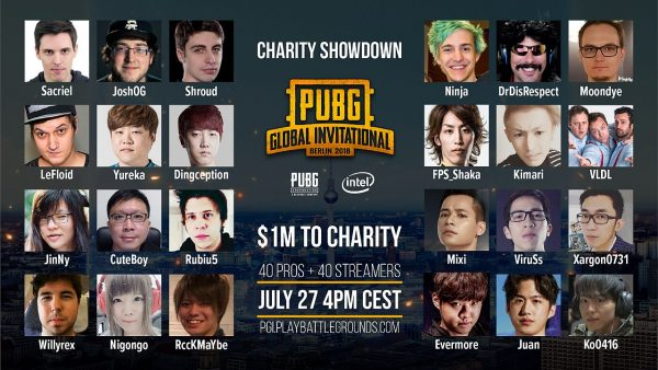 PUBG Charity Showdown
