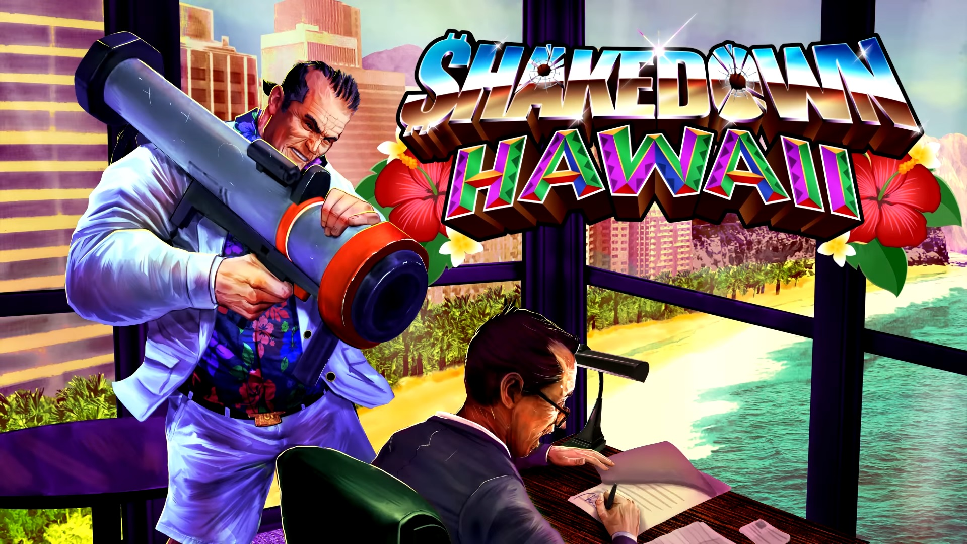 Retro City Rampage sequel, Shakedown: Hawaii, arrives this year - VG247
