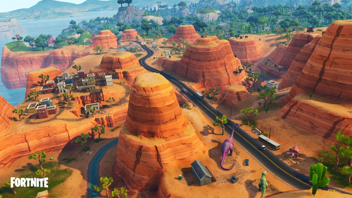 Tour The New Fortnite Season 5 Map From Lazy Links To Paradise