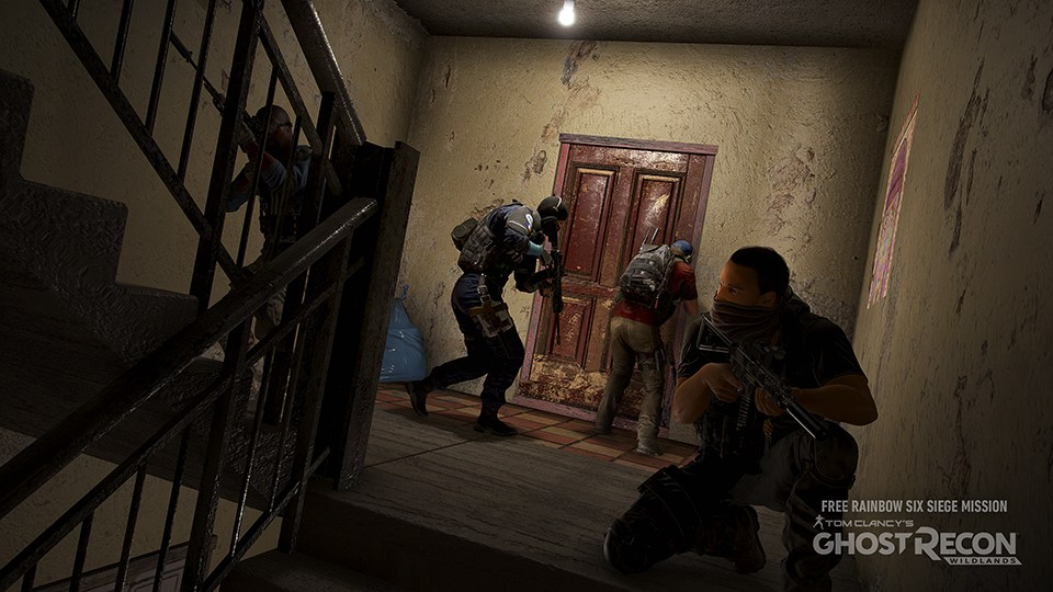 Ghost Recon Wildlands' Rainbow Six Siege crossover mission available