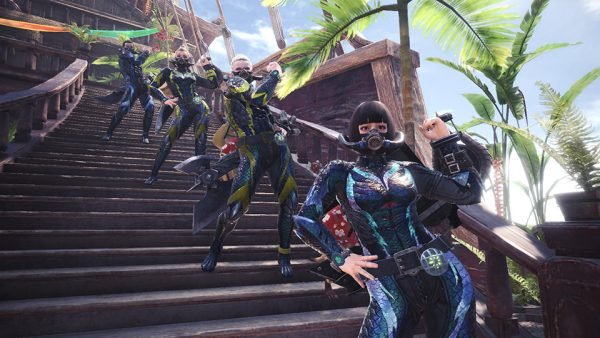 Monster Hunter World for PC replaces squads with Steam groups - VG247