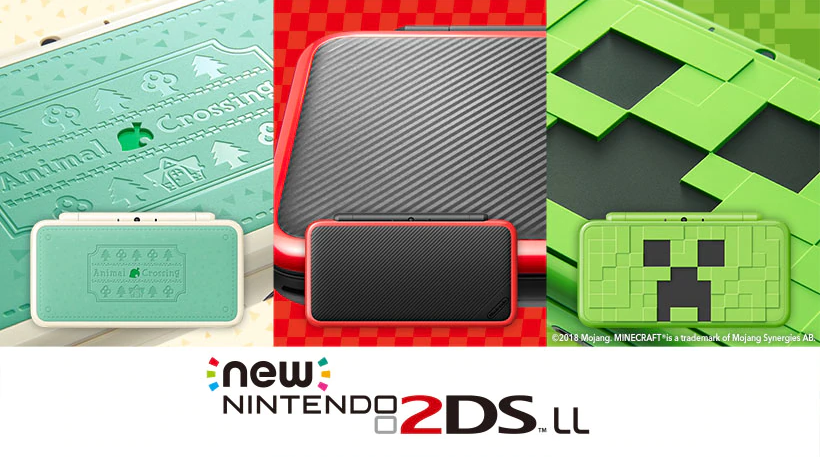 the creeper edition comes with minecraft new nintendo 3ds edition pre installed while the animal crossing edition includes the amiibo compatible version - fortnite nintendo 2 ds