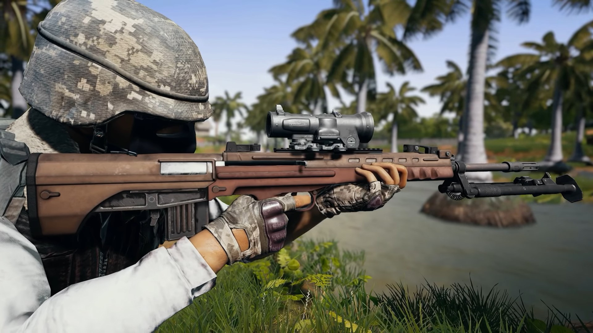 Pubg S Sanhok Map Is Getting A New Dmr And A New Vehicle Soon Vg247