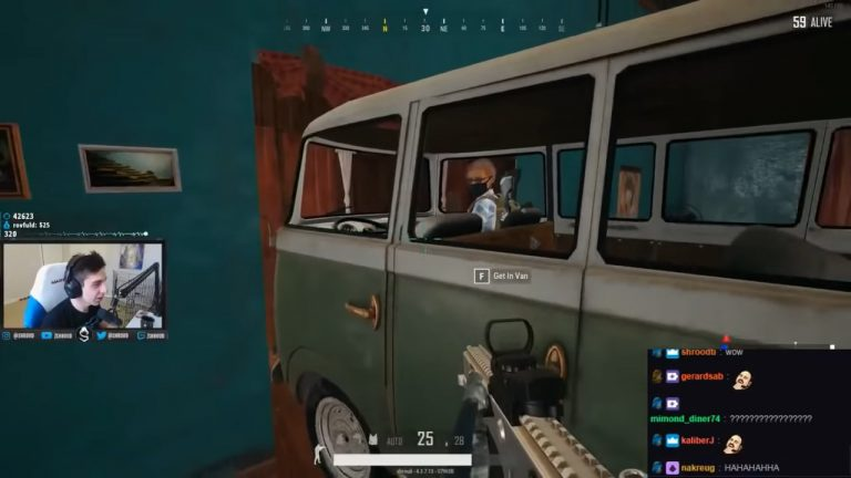 After playing with a blatant cheater, popular PUBG Twitch