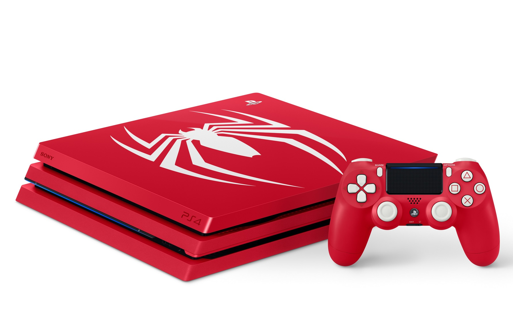 Take a look at the limited edition Spider-Man PS4 Pro bundle