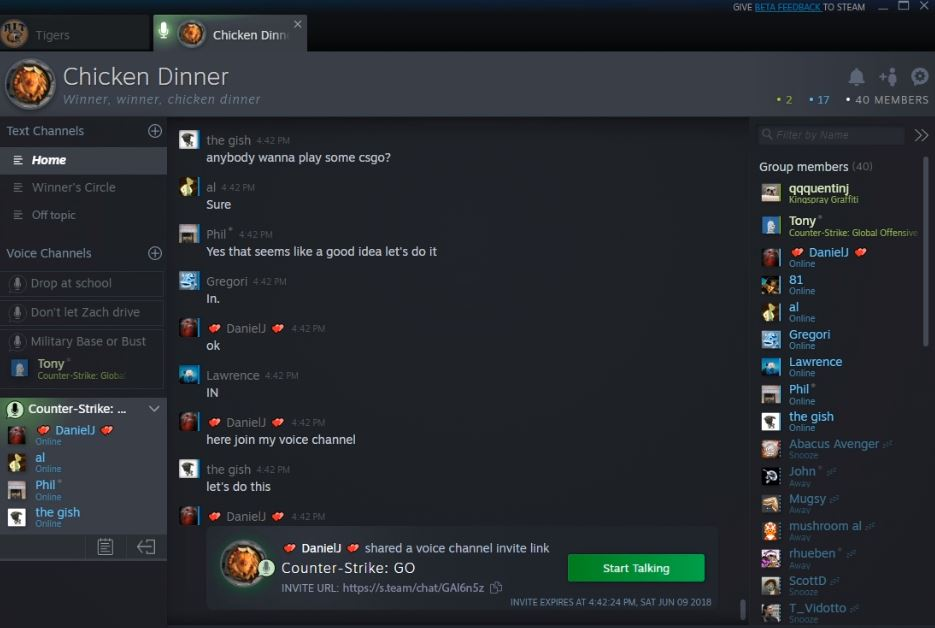 Valve's New Steam Chat Exits Beta, Available Now for All Users