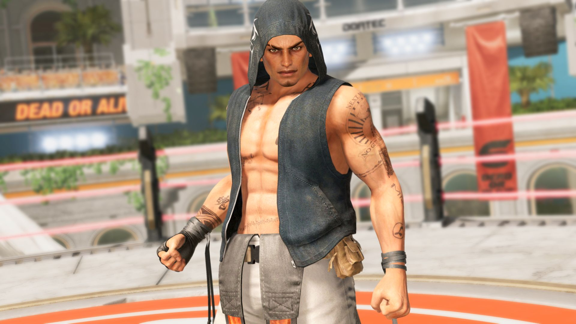 Rig returns in Dead or Alive 6 alongside newcomer Diego