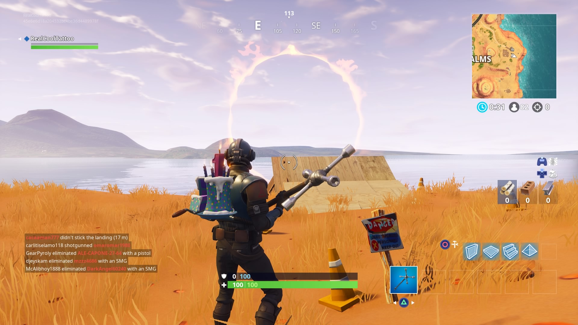 Fortnite Flaming Hoop Locations Where To Jump Through Flaming