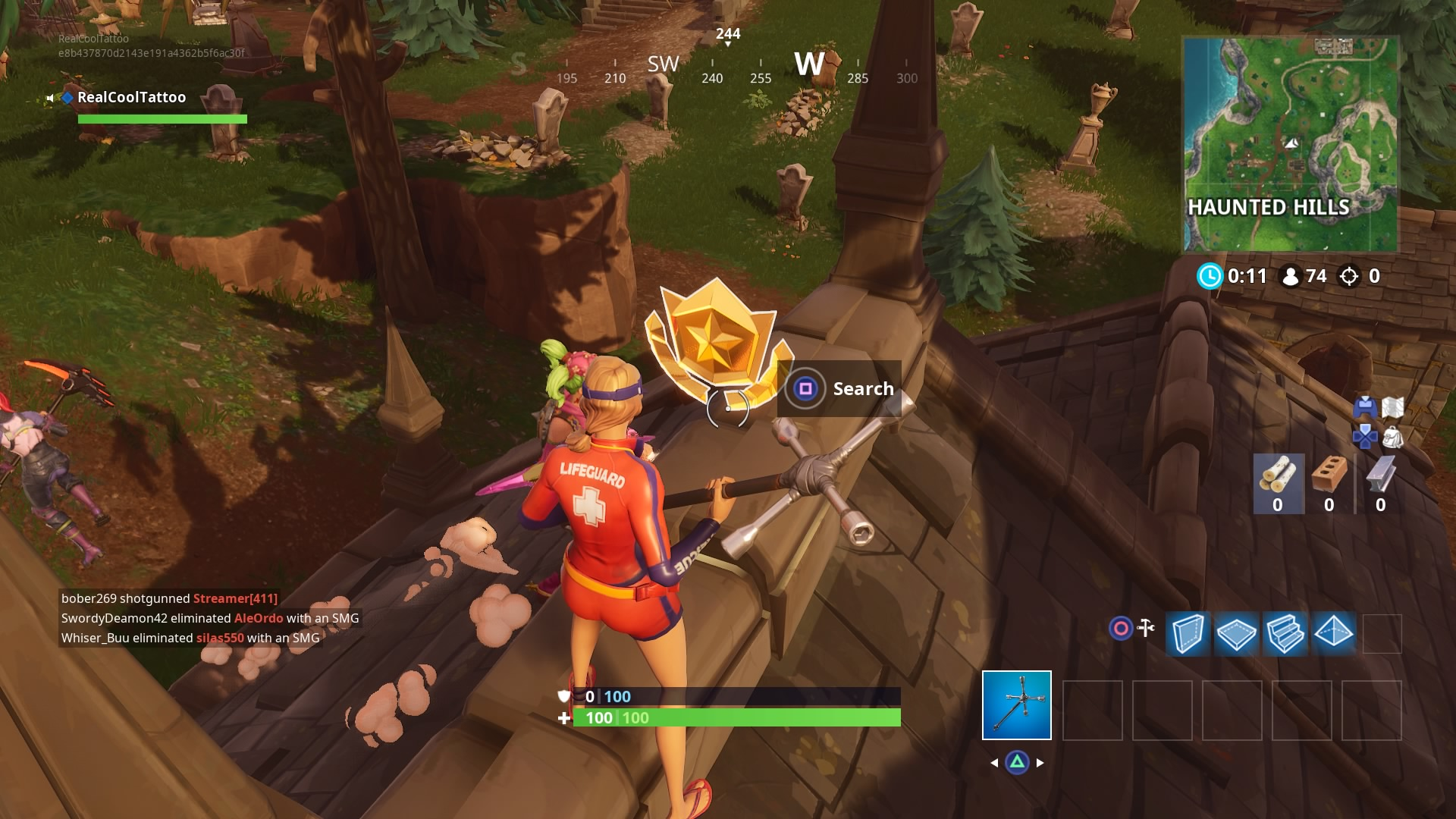 Fortnite Map Snooby Shores Fortnite Snobby Shores Treasure Map Location Vg247