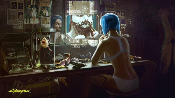 CD Projekt Red Live Streaming Cryptic Message on Twitch