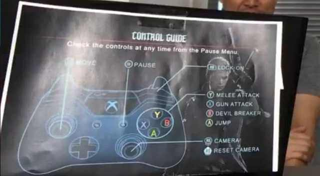 Check out the default Devil May Cry 5 controls - VG247