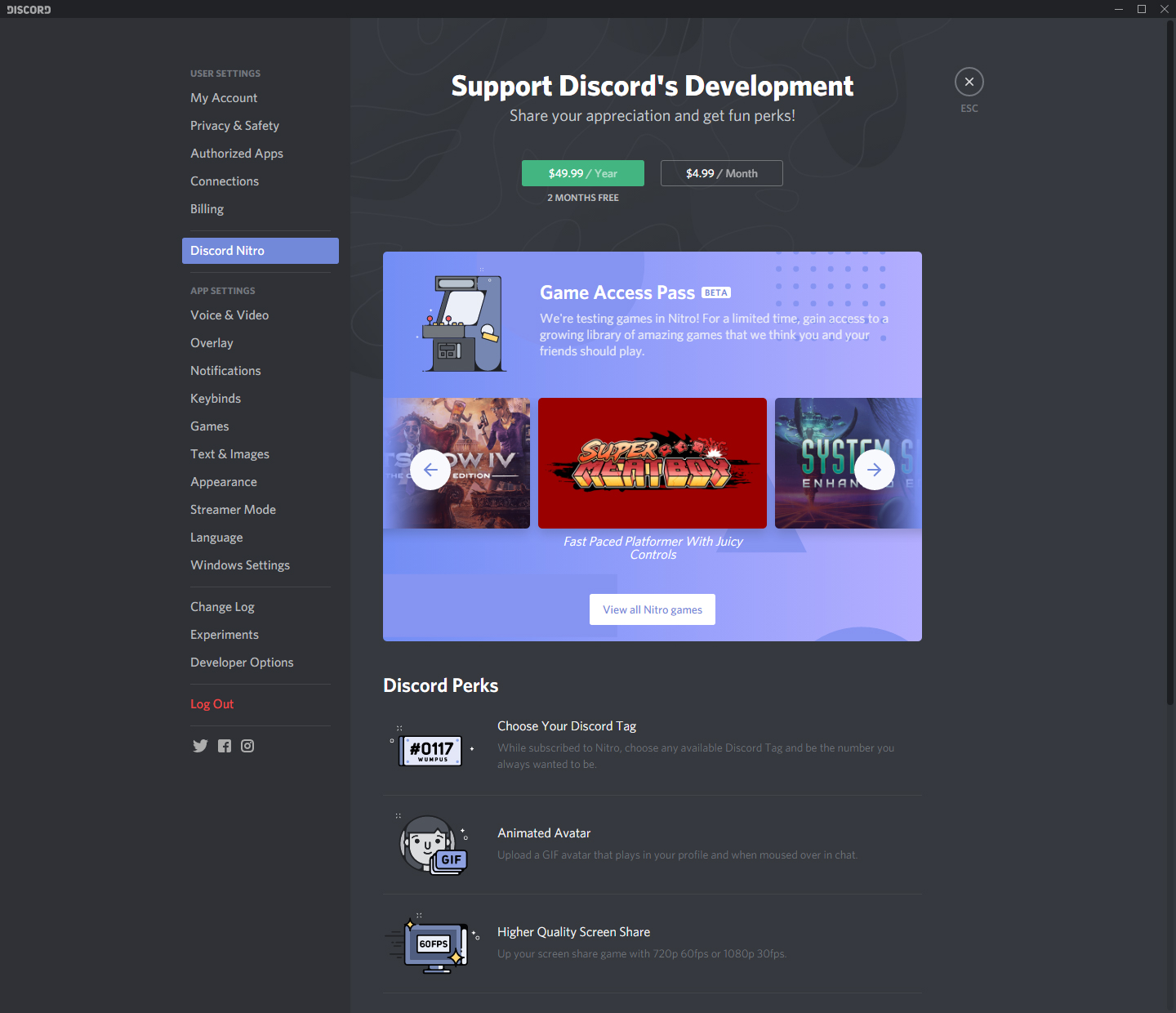 Discord Launches a Game Store, Adds Free Games to Nitro Subscription