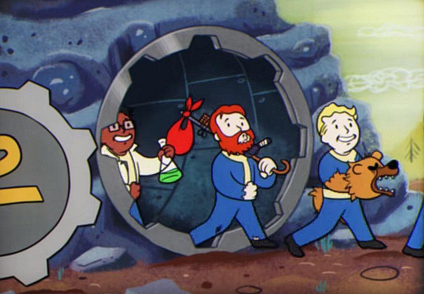 Fallout 76 perks: Mysterious Stranger, Bear Arms, Green
