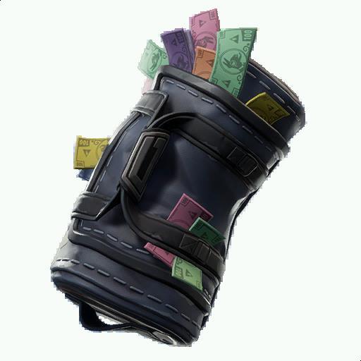 swag bag back bling - fortnite buckled back bling