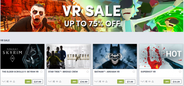 humble vr sale 600x282 - This week's best gaming deals: New Nintendo 2DS XL, Persona 3 & 5, GTA 5, and more