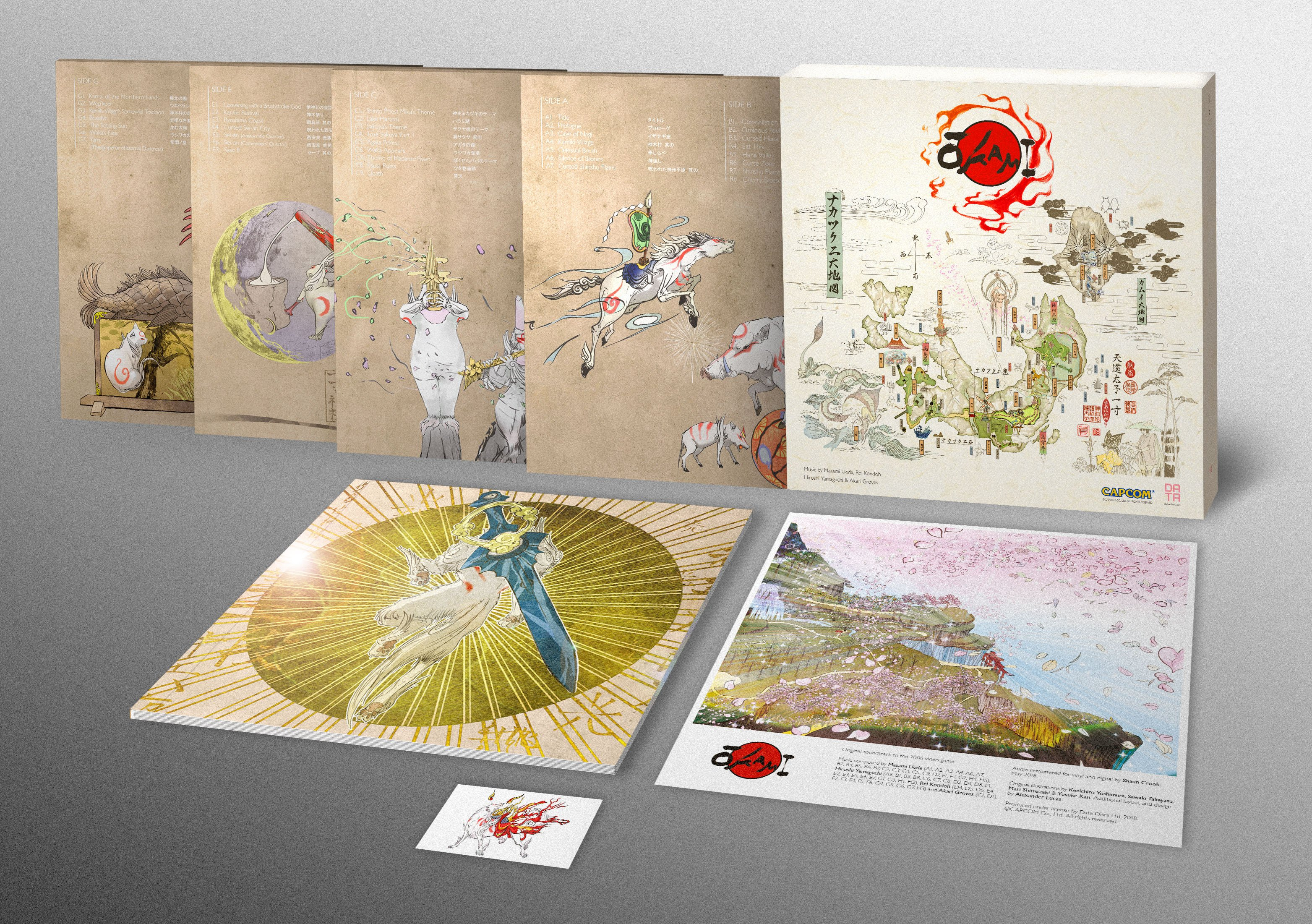 The new Okami soundtrack vinyl release is absolutely