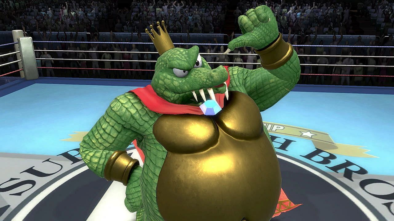 「super smash bros ultimate king k rool」の画像検索結果