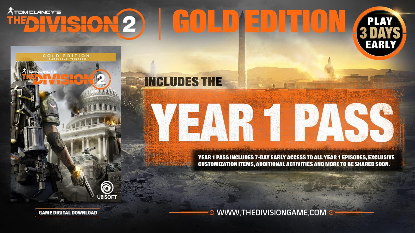 The Division 2 open beta is live: end time, content
