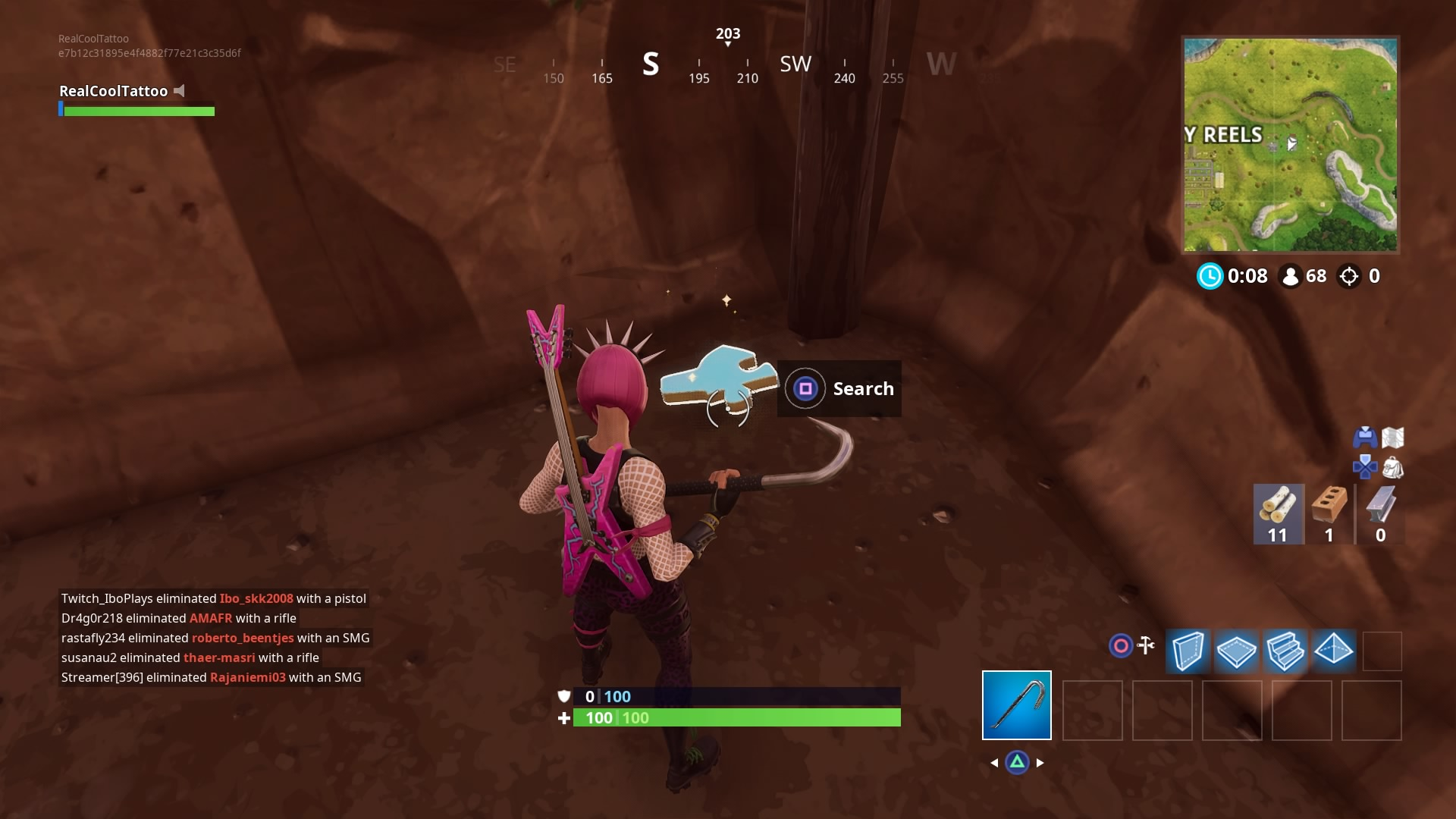 Fortnite Jigsaw Puzzle Map Fortnite Search Jigsaw Puzzle Pieces In Basements Locations With Map Vg247