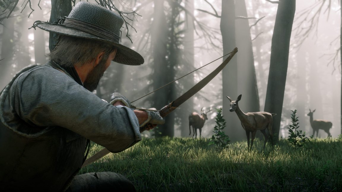 Red Dead Redemption 2: how to upgrade the bow and arrows - VG247