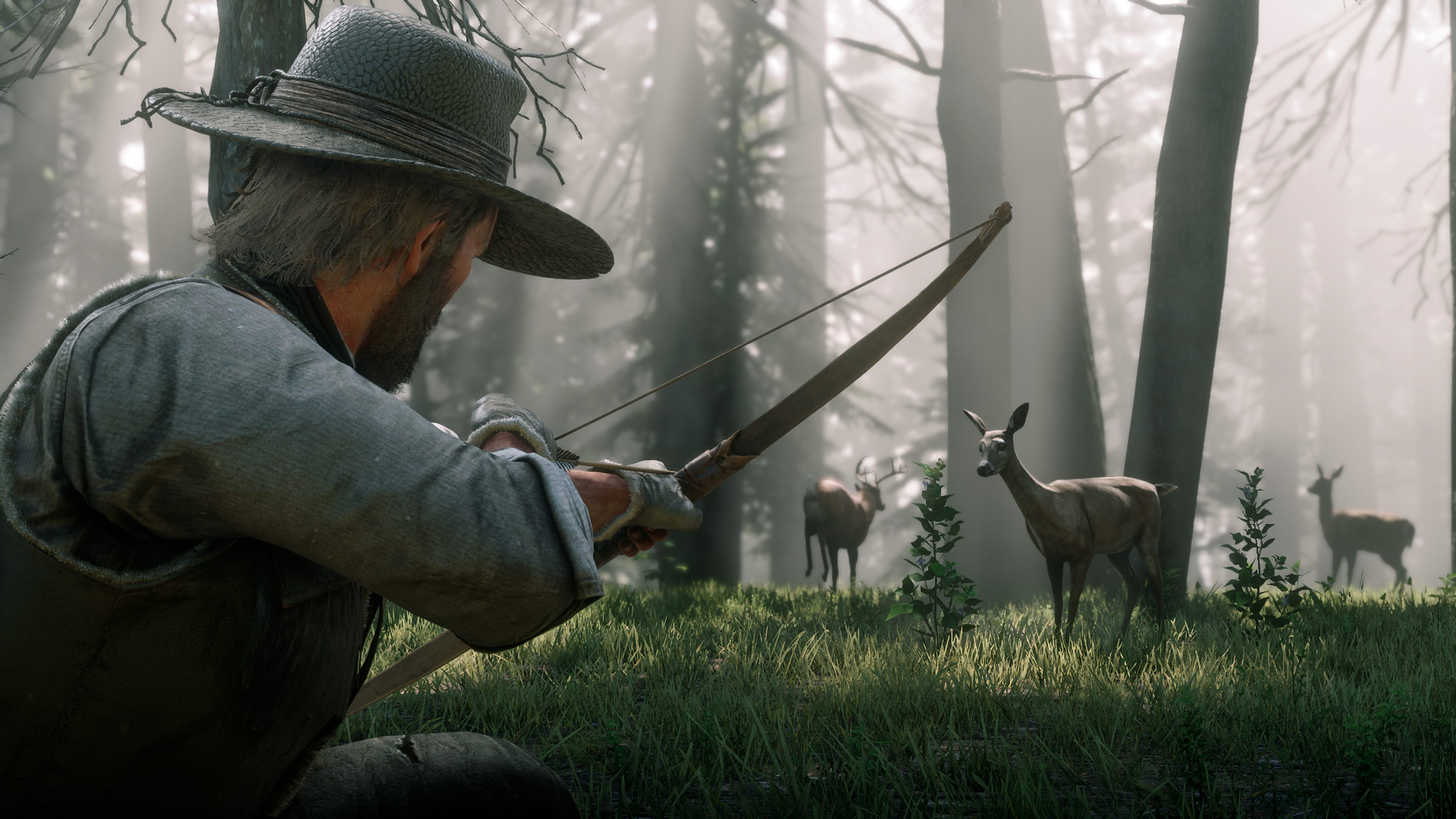 red dead redemption 2 how to upgrade the bow and arrows vg247