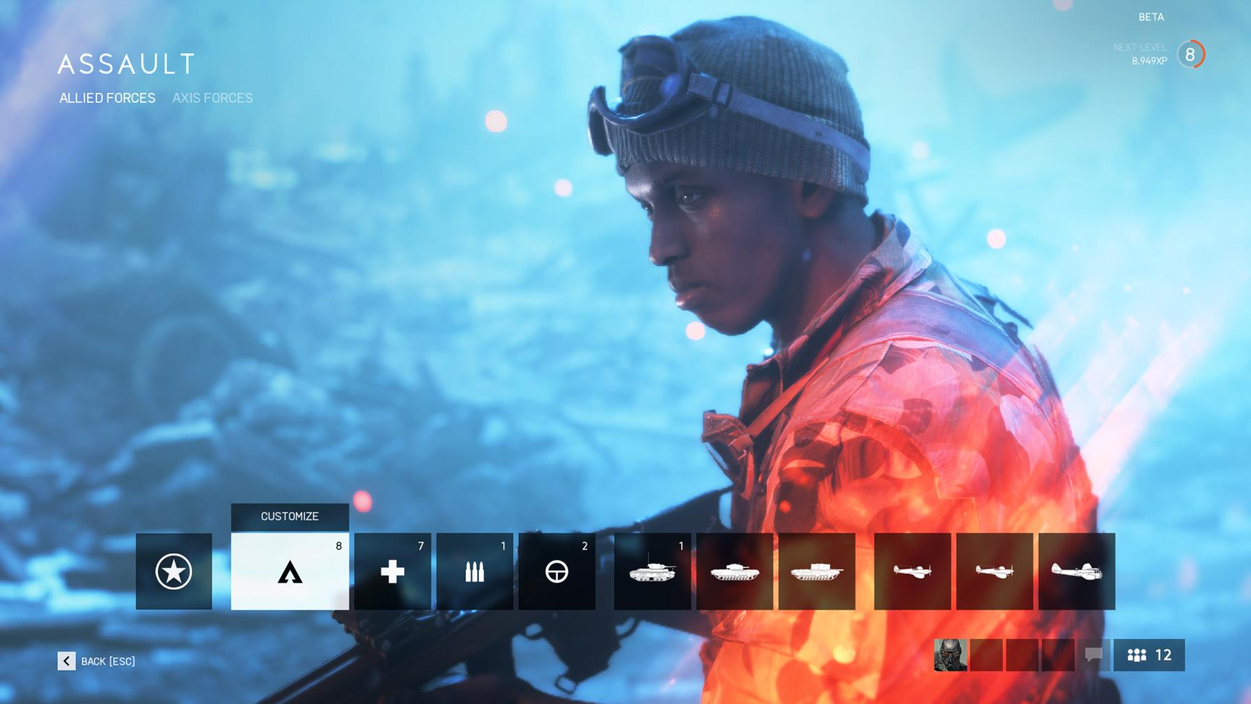 Battlefield 5: how to track Assignments, Special Assignments