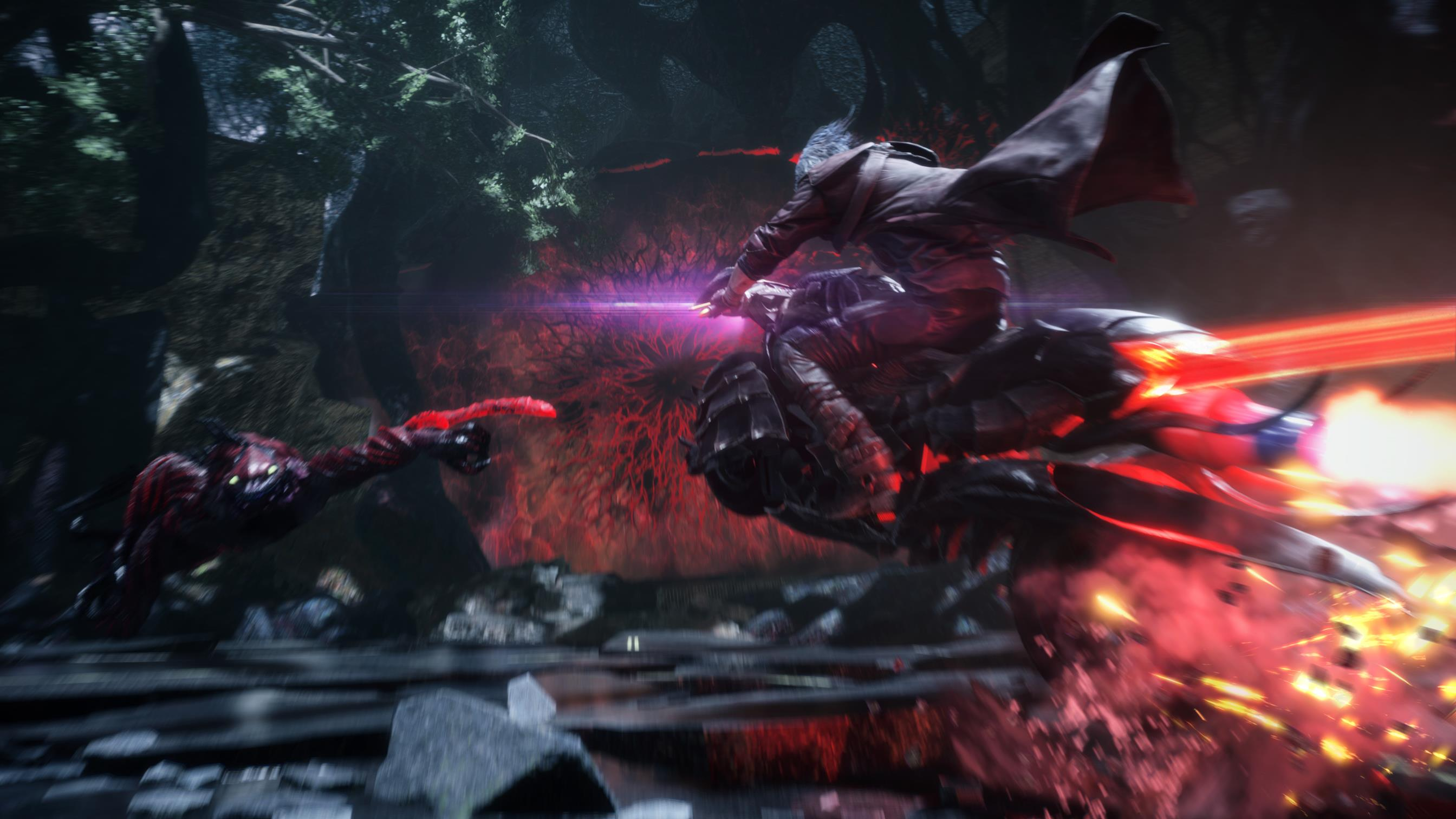 Dante Blasts Away in Devil May Cry 5 Tokyo Game Show Trailer